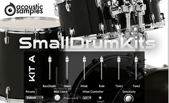 AcousticSamples SmallDrum Kit A