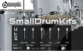 AcousticSamples SmallDrum Kit C