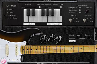 AcousticSamples Strategy パターンモード