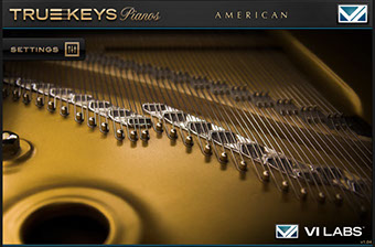 VI Labs Truekeys: Pianos American Grand