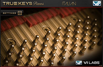 VI Labs Truekeys: Pianos Italian Grand