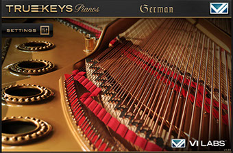 VI Labs Truekeys: Pianos German Grand